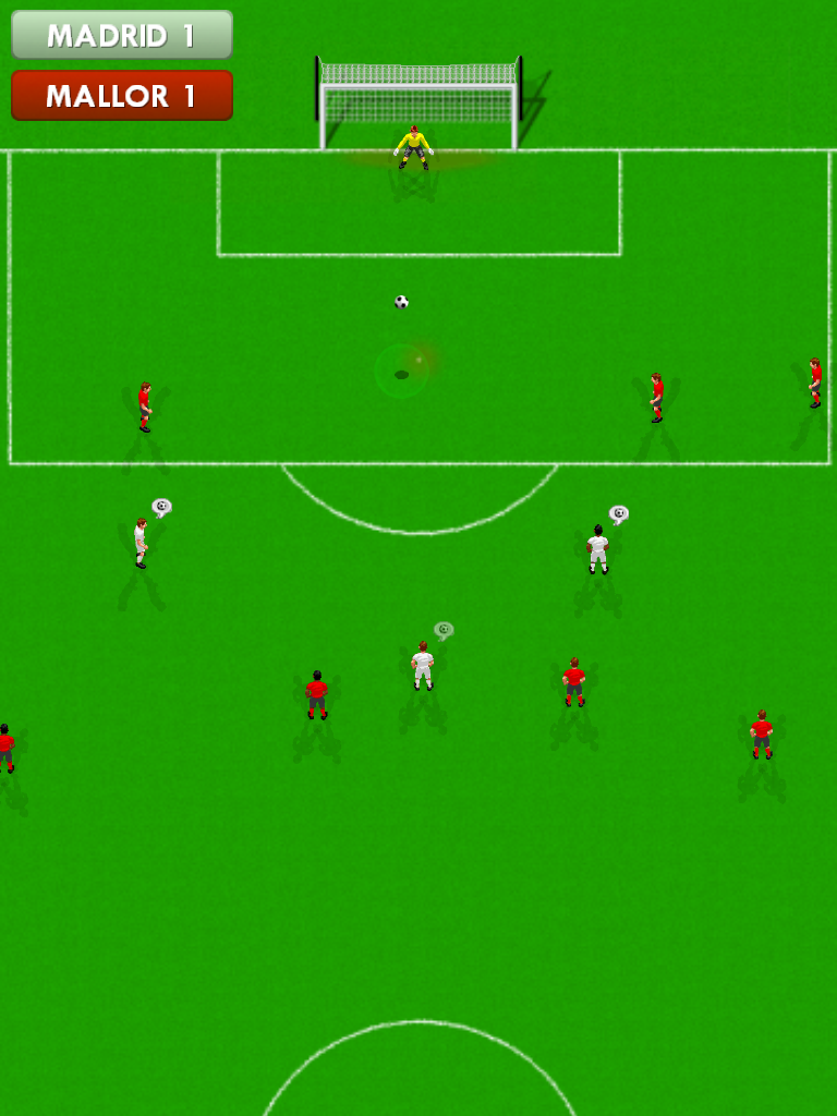 New Star Soccer Attacking-Header Minigame