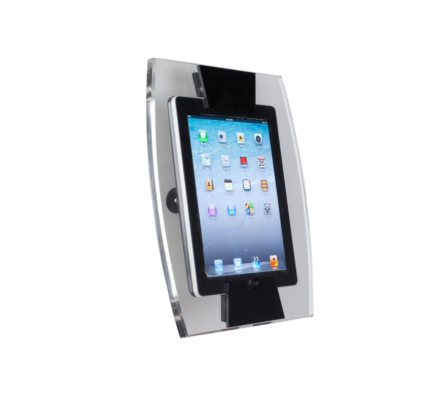 Clear Acrylic iPad Wall Mount