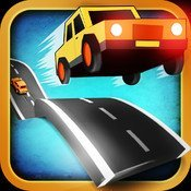 Endless Road Review – A stylish endless racing game