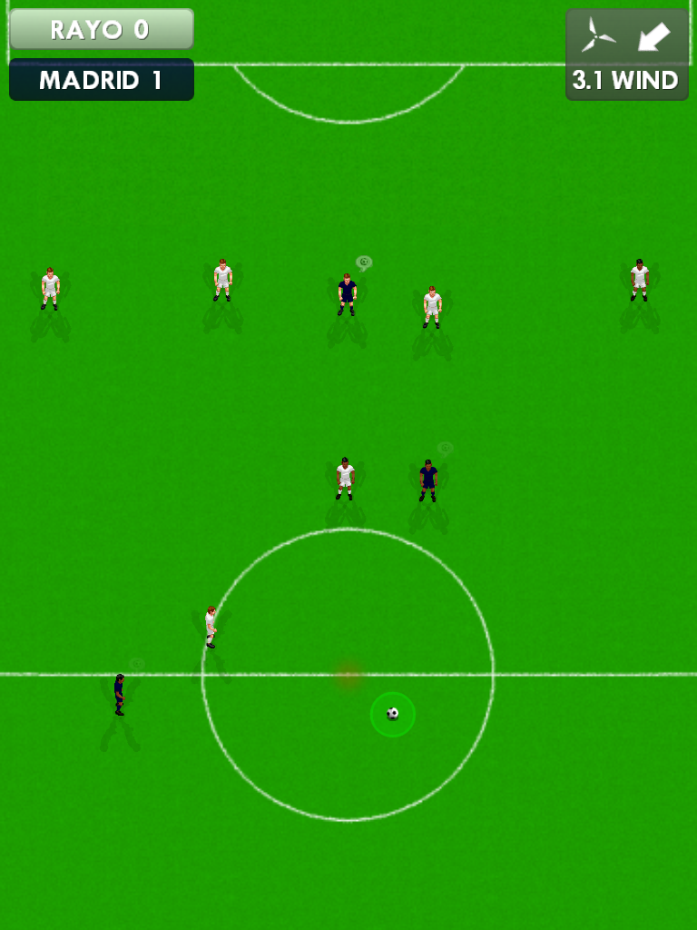 New Star Soccer Midfield passing Minigame