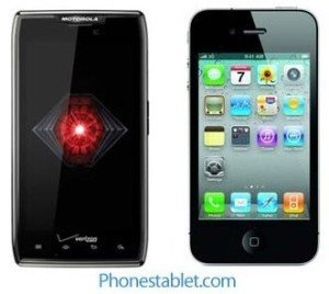 Motorola DROID RAZR MAXX Vs iPhone 4S