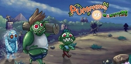 Pumpkins vs Monsters Apk Android Download