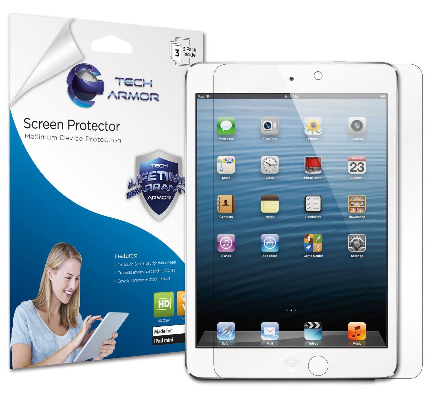 Tech Armor iPad Mini screen