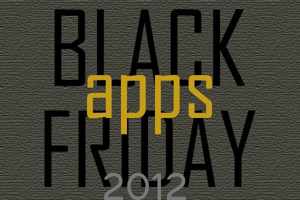 Black Friday 2012 deals on iOS apps