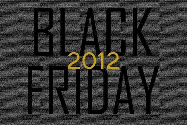 Black Friday 2012 iPhone, iPad deals