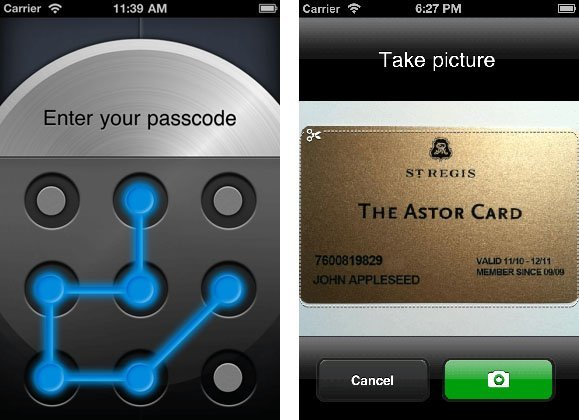 oneSafe for iPhone iPad